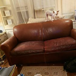 Leather Sleeper Sofa for Sale in New York,  NY