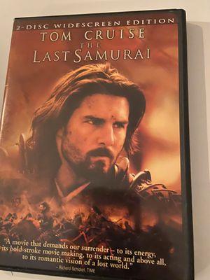 The Last Samurai - DVD for Sale in Euless, TX