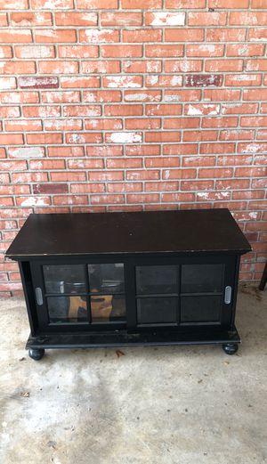 Black tv stand/ dresser for Sale in Lakeland, FL