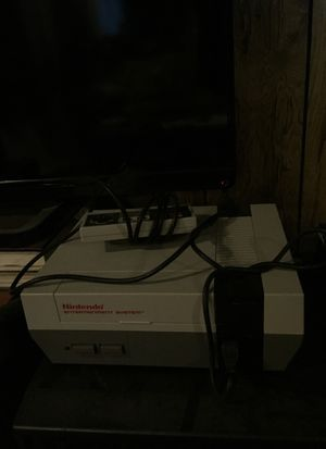 Original NES With 15 games and 2 controllers for Sale in East Wenatchee, WA