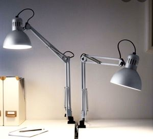 Two sliver IKEA Tertial lamps (new in bag) for Sale in Seattle, WA