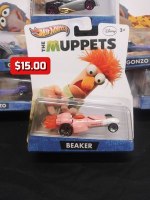 2012 Hot Wheels The Muppets Disney Beaker Collector Character Cars 1:64 Rare for Sale in Oakland, CA
