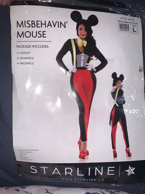 Mickey Mouse adult costume for Sale in Los Angeles, CA