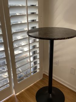 FREE Must Go Today Faux Marble Bar Table for Sale in Los Angeles,  CA
