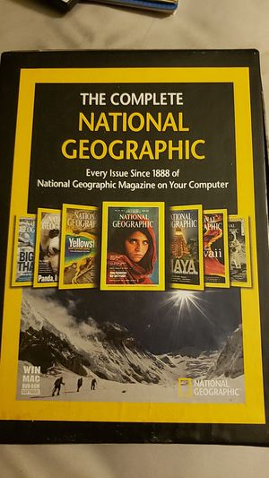 The Complete National Geographic for Sale in Bakersfield, CA