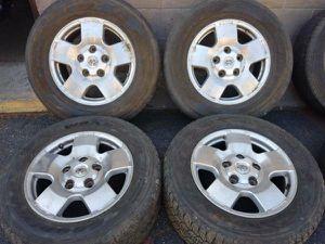 Toyota Tundra or Sequoia alloy 5 lug 18 inch rims for Sale in Montebello, CA