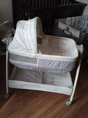 Bassinet with changing table for Sale in Garland, TX