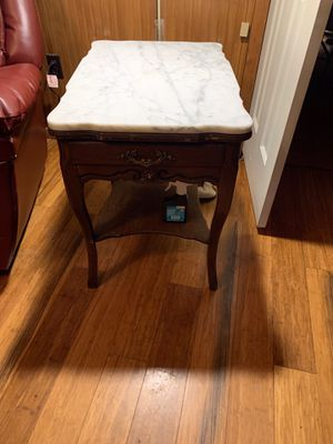 Marble End table for Sale in Quick, WV