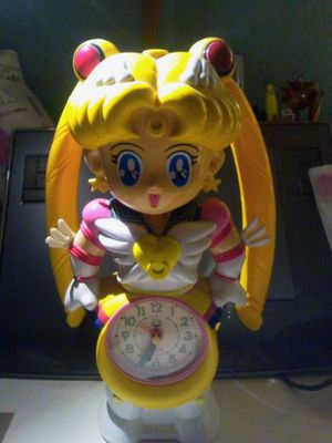 Sailor moon clock and alarm for Sale in Glendale, CA