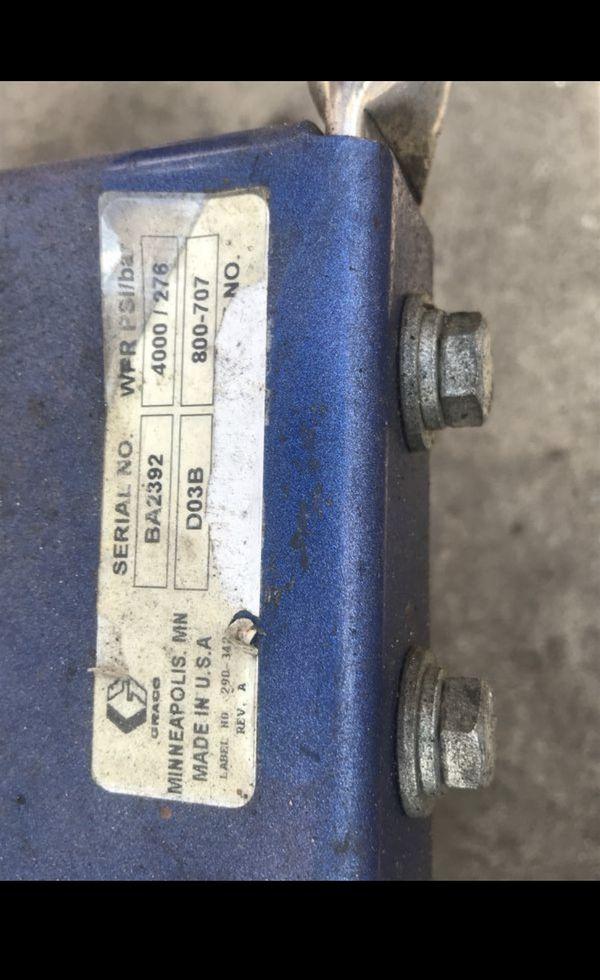 Graco G-Force 4043 Belt-Drive Pressure Washer Honda engine 4000psi