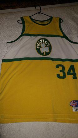 D'funkd 1914-15 hardwood classic Celtics Jersey #34 for Sale in Hesperia,  CA