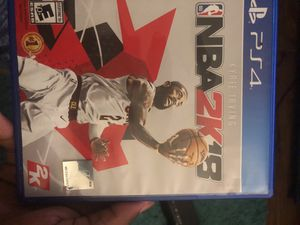 NBA 2k18 for Sale in Durham, NC