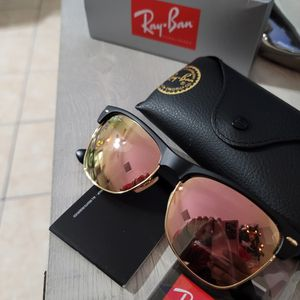 Rayban Sunglasses Clubmaster Oversize Model Rose Gold Lens Lentes Ray Ban for Sale in Phoenix, AZ