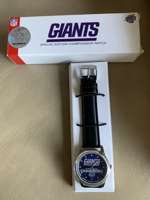 Giant Super Bowl Champions XLII Special Edition Watch for Sale in Coral Springs, FL