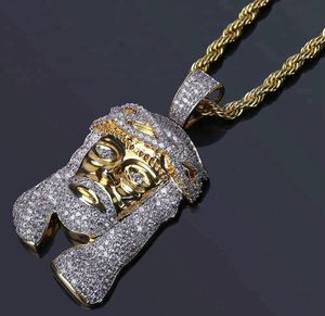 Iced out Micro Jesus pendant with 18inch rope chain for Sale in Chesapeake, VA