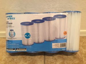 4-Pack Summer Waves A or C Filter Cartridge for Sale in Goodyear, AZ