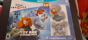 Disney's INFINITY 2.0 TOY BOX Starter Pack (Nintendo Wii U) NEW! for Sale in Lewisville, TX