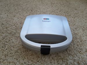 Cuisinart sandwich grill for Sale in Irving, TX
