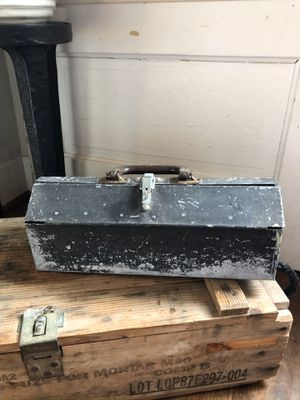 Vintage Tool Box w/ Tray for Sale in Brier, WA