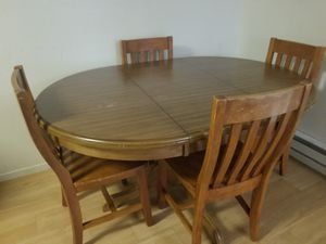 Wooden Dining table chairs for Sale in San Leandro, CA