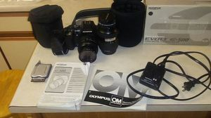 Olympus evolt e-500 digital camera with lense for Sale in San Diego, CA