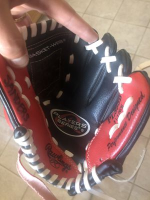 "Like New Rawlings Youth 8 1/2"" All Leather Basket Web Baseball Glove for Sale in El Mirage, CA"