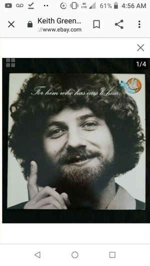 For Him Who Has Ears To Hear LP Keith Green for Sale in San Diego, CA