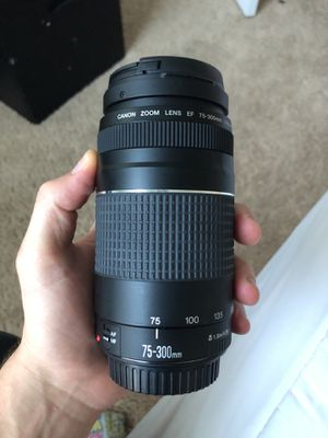 75-300mm Canon Lense for Sale in Windermere, FL