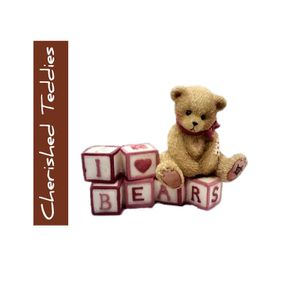 Cherished Teddies I Love Bears Figurine. SHIPPING ONLY!!! for Sale in Colorado Springs, CO