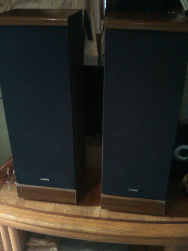 FISHER SPEAKERS......