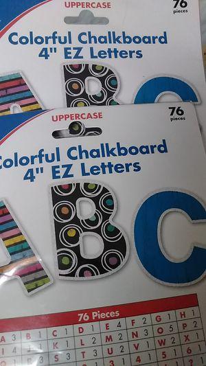 Chalkboard letters for Sale in Detroit, MI
