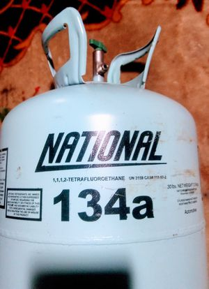 Automotive Shop Refrigerant R134A 30 LBS TANK VIRGIN FREON MADE IN THE USA for Sale for sale  Houston, TX