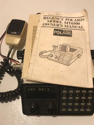 Marine ship to shore radio for Sale in Rock, MI