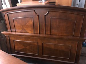Solid wood Queen bed frame for Sale in Troy, NY