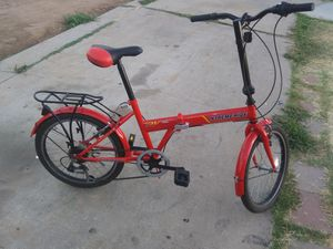LIKE NEW FOLDING BIKE for Sale in Lincoln Acres, CA