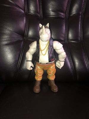 """TEENAGE MUTANT NINJA TURTLES OUT OF THE SHADOWS ROCKSTEADY 12"""" ACTION Figure TMNT for Sale in Hayward, CA"""