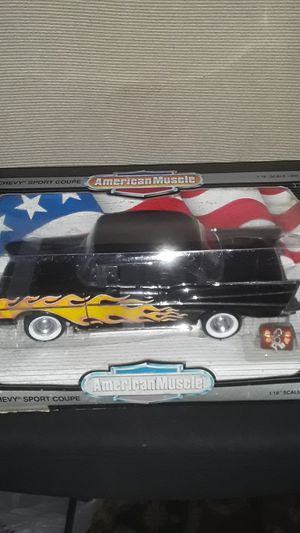 SALE AMERICAN MUSCLE COLLECTORS EDITION CUSTOM 1957 CHEVROLET SPORT COUPE NEW IN ORIGINAL BOX UNOPENED for Sale in Providence, RI