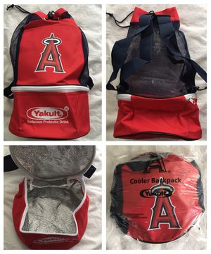 LA angels anaheim baseball insulated COOLER / BACKPACK - NEW for Sale in Santa Ana, CA