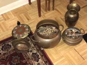13 copper decoration pieces from many different countries. for Sale in Bridgeport, CT