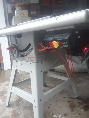 Rigid Ridgid 10in table saw for Sale in West Jordan, UT