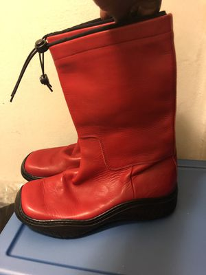 2 Work leather boots for Sale in Newark, NJ