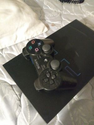 Ps2 console 6 ps2 games 2 Wii games & a x box 360 controller for Sale in St. Louis, MO