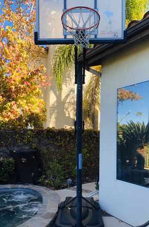 Elite basketball Hoop and also table tennis top ( pic not included) for Sale in Mission Viejo, CA