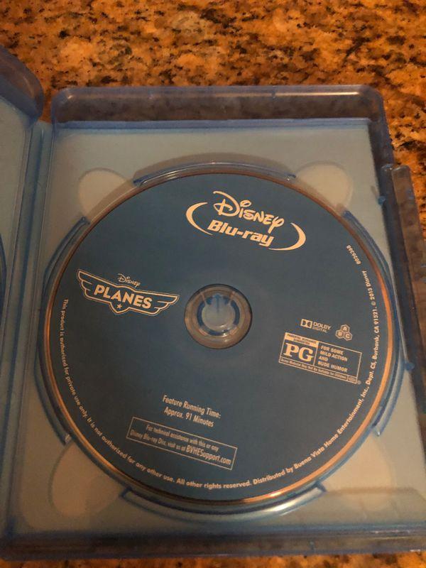 Planes Blu-ray & DVD $5