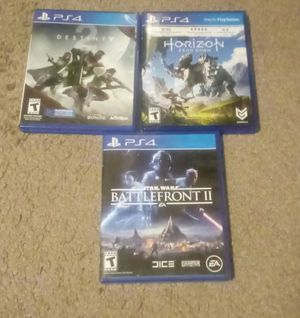 Ps4 games for Sale in West Valley City, UT