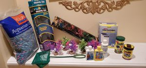 Various Fish Aquarium Accessories. Now, All You Need Are The Fish & Tank! for Sale in Woodbridge, VA