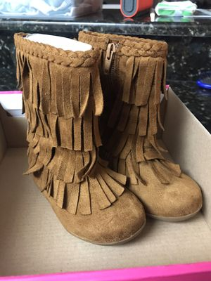Jumping Beans Toddler Fringe Boots for Sale in Naples, FL