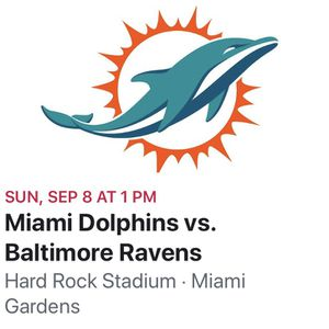Dolphins vs Ravens Tickets for Sale in Port St. Lucie, FL