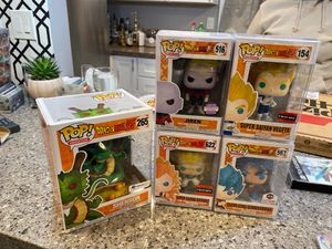 Dragonball Z Funko Pop Exclusive Collection for Sale in San Diego, CA