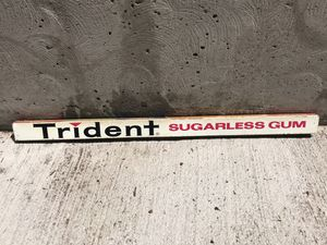 1970s Metal Trident Gum Candy Rack Sign for Sale in Seattle, WA